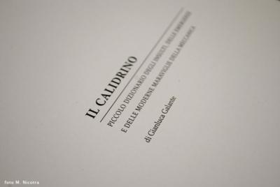 Frontespizio del libro Il Calidirno