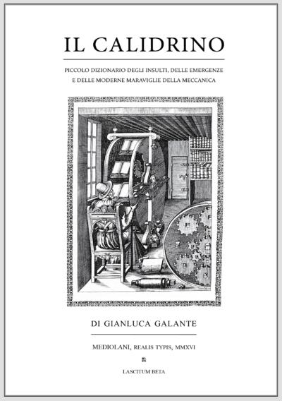 Copertina del libro Il Calidrino