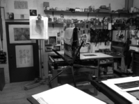 Laboratorio-Guerri-Cesena-torchio-calcografico