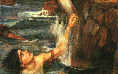 Waterhouse la Sirena antemprima immagine