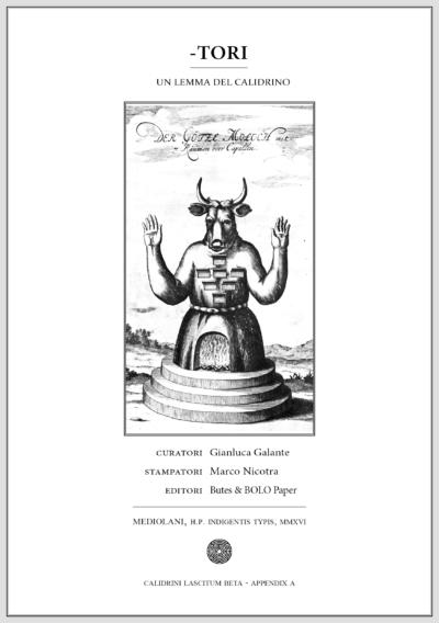 Copertina del libro Tori