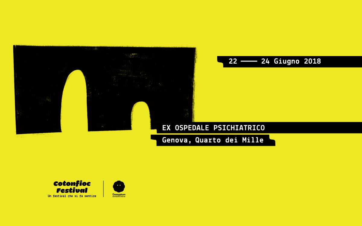 Cotonfioc Festival editoria e autoproduzioni Genova Banner