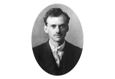 Ritratto di Paul Dirac da giovane